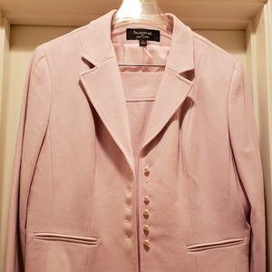 Ladies Pleated Skirt Suit